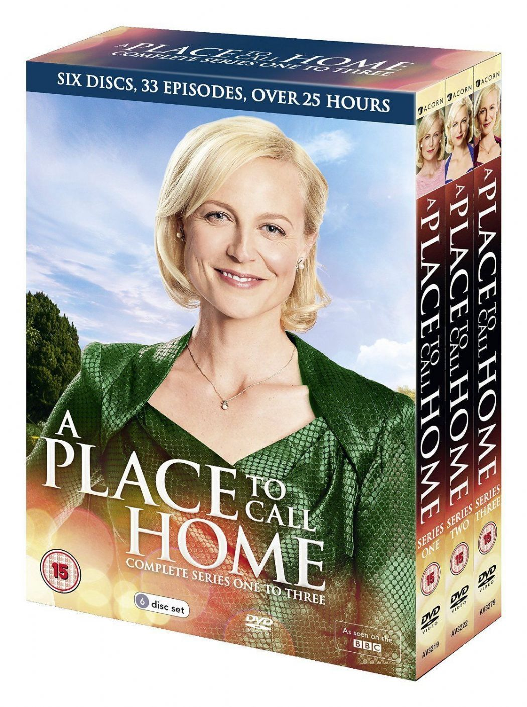 A Place to Call Home - Series 1-3 New (DVD 2016)  USED